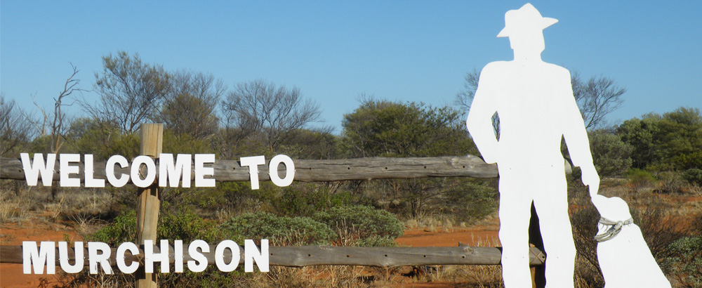Picture: Welcome to Murchison